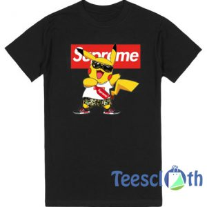 Pikachu Supreme Pokemon T Shirt