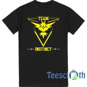 Pokemon Go Team Instinct Pokeball T Shirt