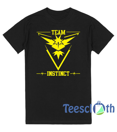Pokemon Go Team Instinct Pokeball T Shirt