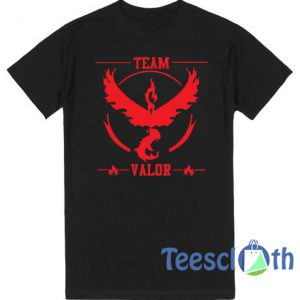 Pokemon Go Team Valor Pokeball T Shirt