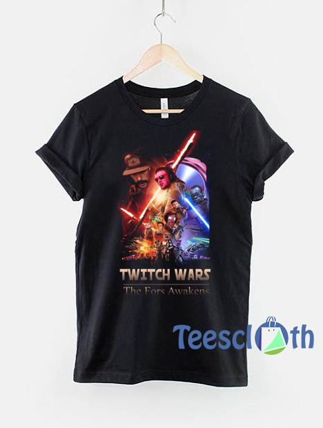 Twitch Wars parody Star Wars T Shirt