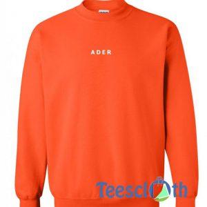 Ader Text Sweatshirt