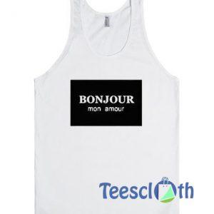 Bonjour Mon Amour Tank Top