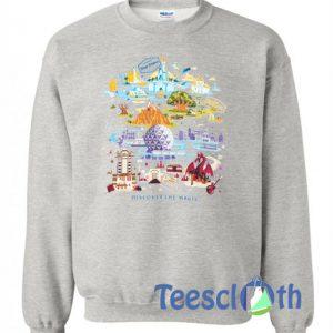 Disney World The Magic Sweatshirt