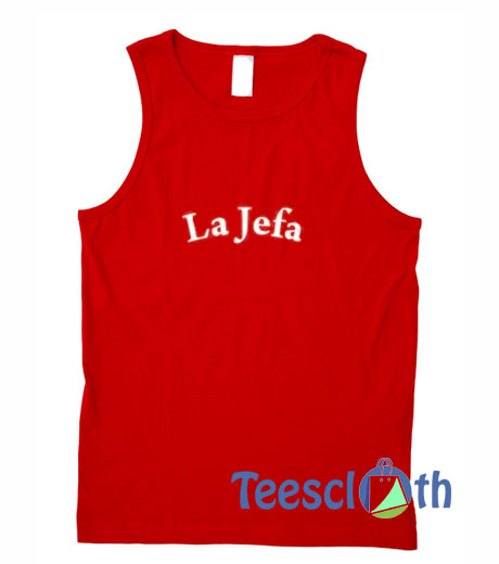 La Jefa Font Tank Top