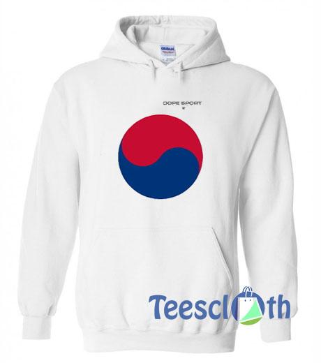 South Korea Dope Sport Hoodie