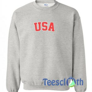 USA Logo Graphic Sweatshirt