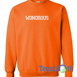 Wondrous Orange Sweatshirt
