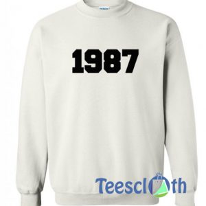 1987 White Sweatshirt