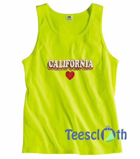 California Heart Tank Top