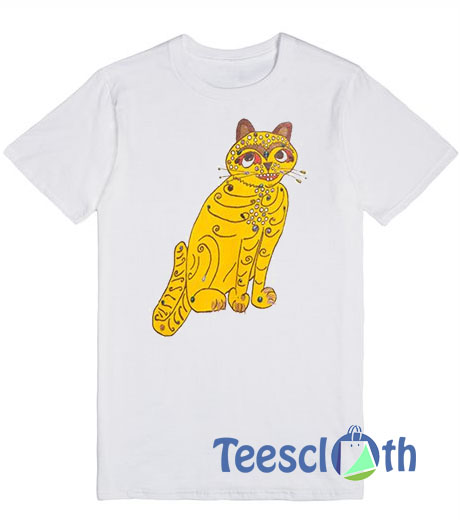 Abba Yellow Cat T Shirt