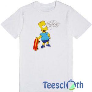 Bart Simpson T Shirt