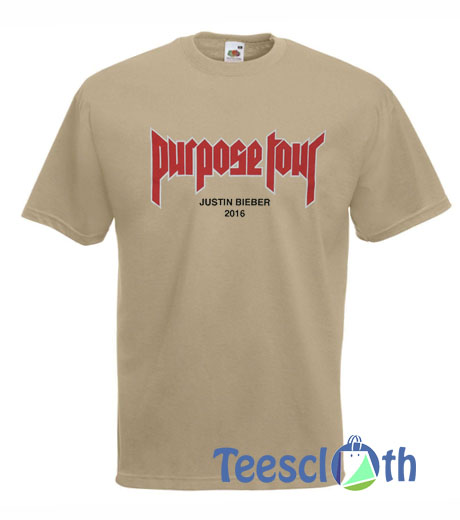 Purpose Tour Justin Bieber T Shirt For Men Women And Youth