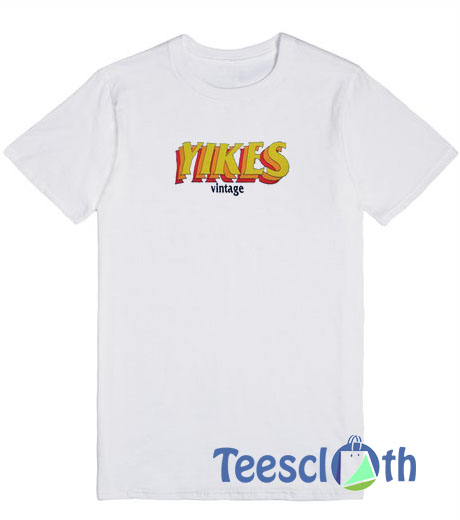 3ca9bd4e532 Yikes Vintage T Shirt For Men Women And Youth