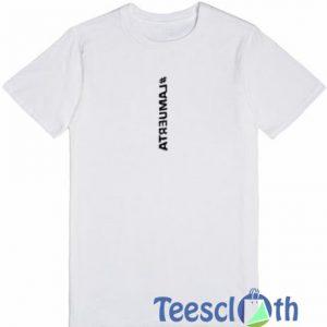 #lamuerta Font T Shirt