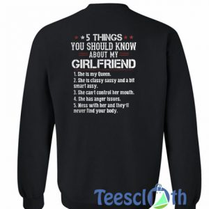 5 Things You Should Know Sweatshirt