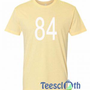 84 Font Number T Shirt