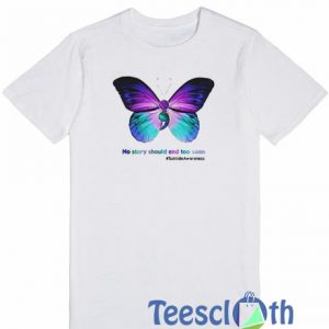 Butterfly No Story T Shirt