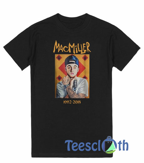 d51749f55 Mac Miller RIP 1992 T Shirt For Men Women And Youth Size S To 3XL