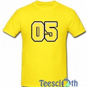 05 Number T Shirt