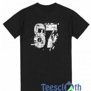 87 Distressed T Shirt