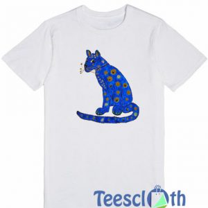Abba Blue Cat T Shirt