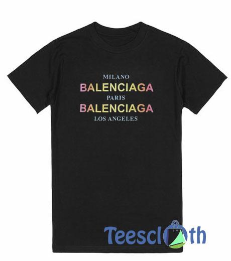 76da0aa5590 Balenciaga City T Shirt For Men Women And Youth Size S To 3XL