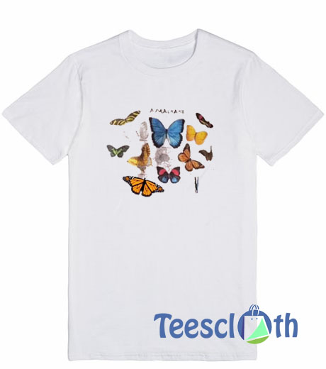 085caa87469d Panama Butterfly T Shirt For Men Women And Youth Size S To 3XL