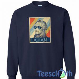 A Ham Garaphic Sweatshirt