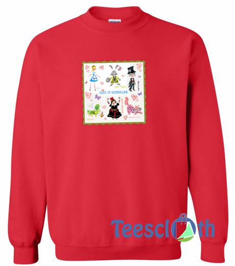 c123cfc1 Alice And Wonderland Sweatshirt Unisex Adult Size S to 3XL