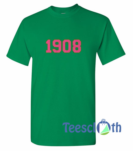 1908 Number T Shirt
