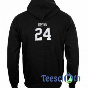 24 Brown Hoodie
