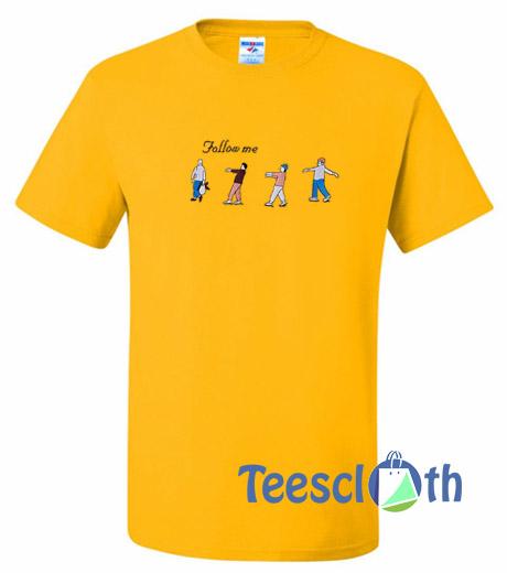 Follow Me Graphic T Shirt