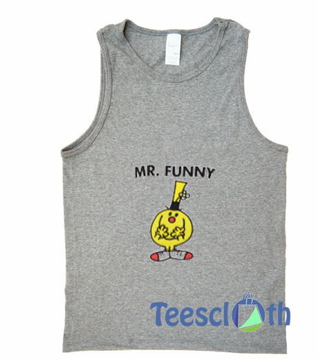 5ce78a3387e27a Mr Funny Graphic Tank Top Men And Women Size S to 3XL