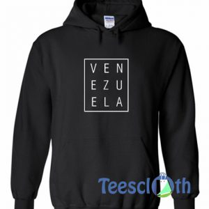 Venezuela Font Hoodie