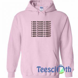 1800 Thank U Next Pink Hoodie