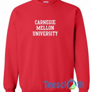 Carnegie Mellon University Graphic Sweatshirt