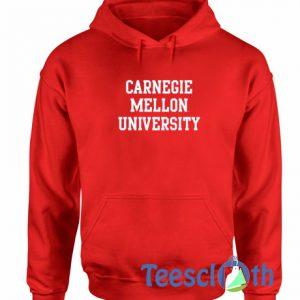 Carnegie Mellon University Red Hoodie