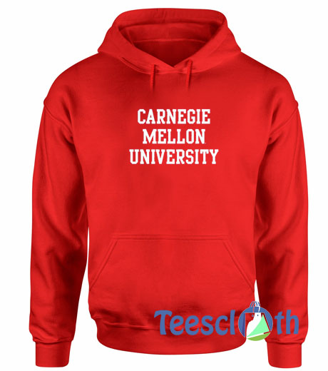 Carnegie Mellon University Red Hoodie