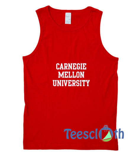 Carnegie Mellon University Tank Top