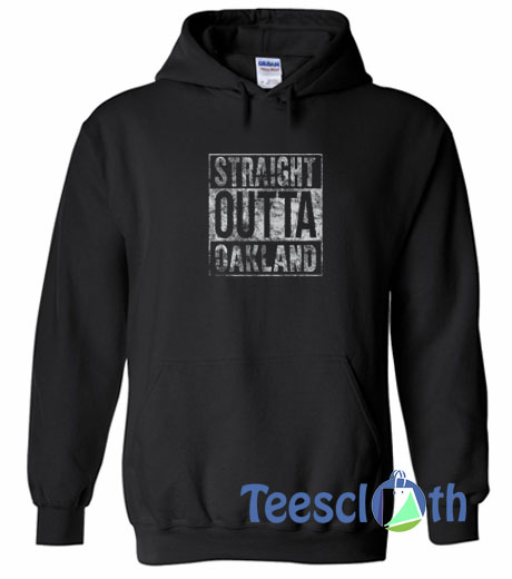 Straight Outta Graphic Hoodie