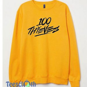 100 Thieves Sweatshirt For Women's or Men's