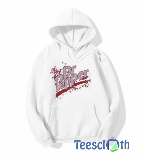 Retro Thermal Dr Pepper Hoodie For Women's Or Men's