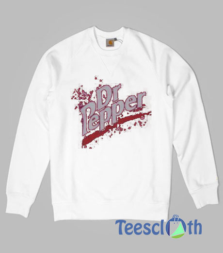 Retro Thermal Dr Pepper Sweatshirt For Women's or Men's