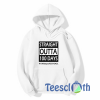100 days of school Straight Outta Hoodie Unisex Adult Size S to 3XL