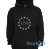 1776 13 Stars Hoodie Unisex Adult Size S to 3XL