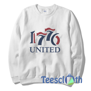 1776 United Retro Logo Sweatshirt Unisex Adult Size S to 3XL