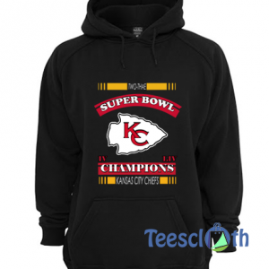 2 Time Super Bowl Champions Hoodie Unisex Adult Size S to 3XL
