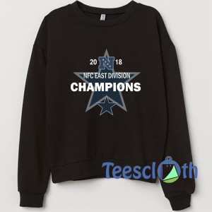 2018 NFC east division Champions Sweatshirt Unisex Adult Size S to 3XL