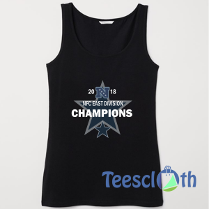 2018 NFC east division Champions Tank Top Men And Women Size S to 3XL